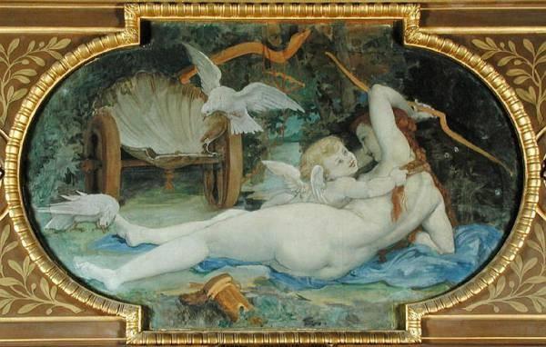 Venus Jouant avec L Amour